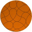 rug #954311 | round abstract rug