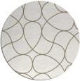 rug #954346 | round graphic rug