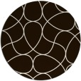 rug #954357 | round brown abstract rug