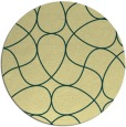 rug #954370 | round abstract rug