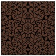 rug #956581 | square brown traditional rug