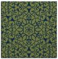 rug #956609 | square blue rug