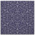 rug #956657 | square blue-violet rug