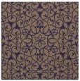 rug #956673 | square blue-violet rug