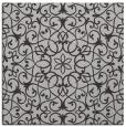rug #956777 | square red-orange traditional rug