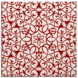rug #956813 | square red traditional rug