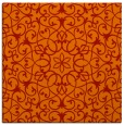 rug #956817 | square red traditional rug