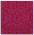 rug #956825 | square pink traditional rug
