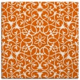 rug #956841 | square red-orange traditional rug