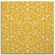 rug #956869 | square yellow rug