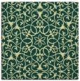 rug #956889   square yellow traditional rug