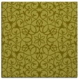 rug #956893 | square light-green damask rug
