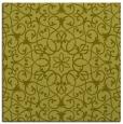 rug #956893 | square light-green traditional rug