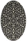 rug #956950 | oval traditional rug
