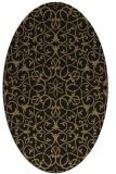 rug #956954 | oval damask rug