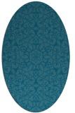 rug #956980 | oval damask rug