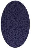 rug #957013 | oval damask rug
