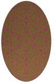 rug #957262   oval traditional rug