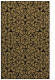 rug #957313    brown damask rug