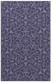 rug #957377 |  blue-violet rug
