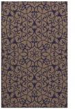 rug #957393 |  blue-violet rug