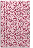 rug #957405 |  red traditional rug
