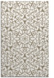 rug #957441 |  mid-brown damask rug