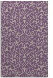 rug #957469 |  purple damask rug