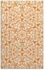 rug #957489 |  orange damask rug