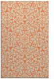 rug #957493 |  beige damask rug