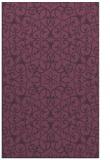 rug #957517    purple traditional rug