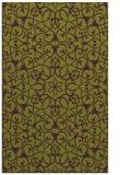 rug #957521 |  green damask rug