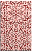 rug #957533 |  red traditional rug