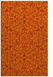 rug #957549 |  red-orange traditional rug