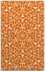 rug #957561 |  red-orange traditional rug