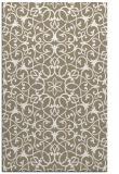rug #957585 |  white damask rug