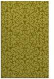 rug #957613 |  light-green damask rug