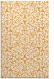 rug #957641 |  light-orange damask rug
