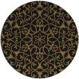 rug #957674 | round damask rug