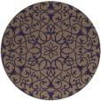 rug #957753 | round beige damask rug
