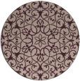 rug #957806 | round geometry rug