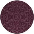 rug #957815 | round traditional rug