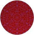 rug #957906 | round damask rug