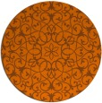 rug #957911 | round traditional rug