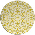 rug #957961 | round white traditional rug