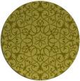 rug #957973 | round light-green damask rug