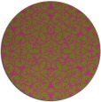 rug #957982 | round traditional rug