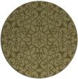 rug #957985 | round light-green damask rug