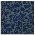 rug #958405 | square blue rug