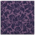 rug #958465 | square purple natural rug